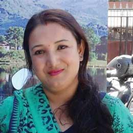 Smiling picture of Neelkamal Shrestha