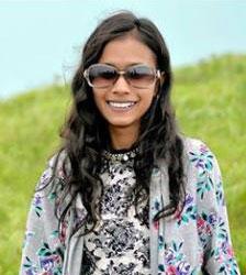 Smiling picture of Sristi KC