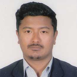 Portrait image of Vishwo Ram Shrestha