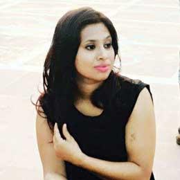 Portrait image of Suprabha Aryal from sideways