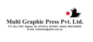 The logo of Multi Graphic Press Private Limited