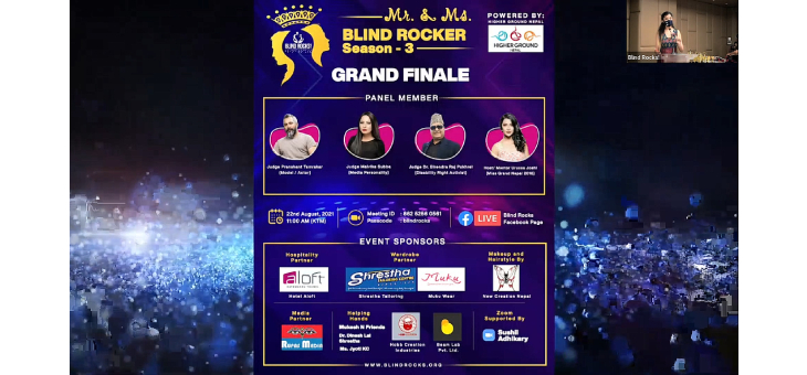 The Grand Finale poster of Mr. and Ms. Blind Rocker Season 3